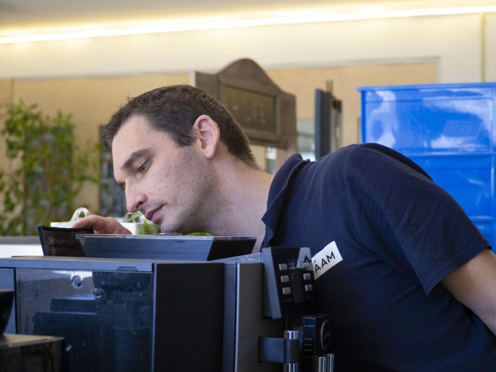 Inspection machine à café entreprise responsable technique