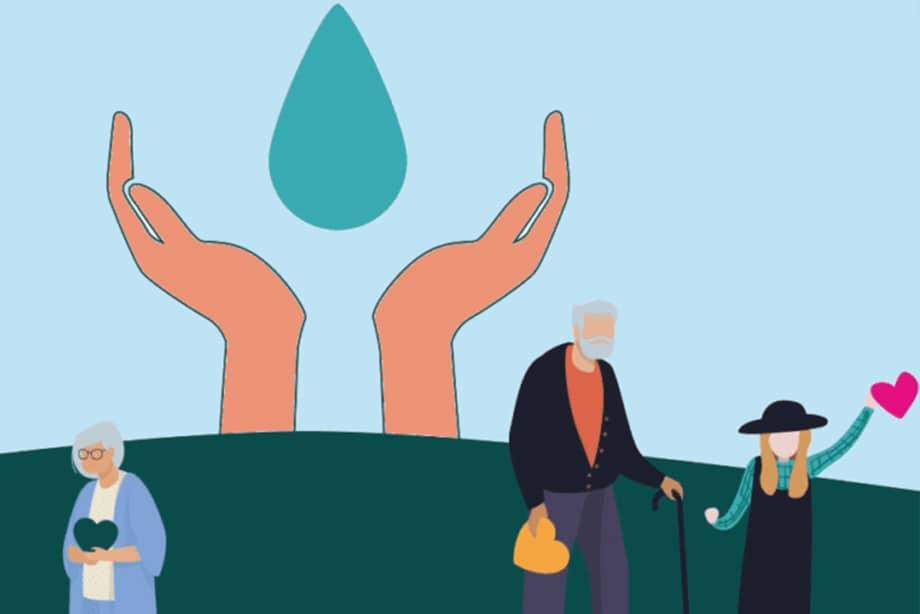 Umano, la gamme de distributeurs de gel hydroalcoolique sans contact solidaire