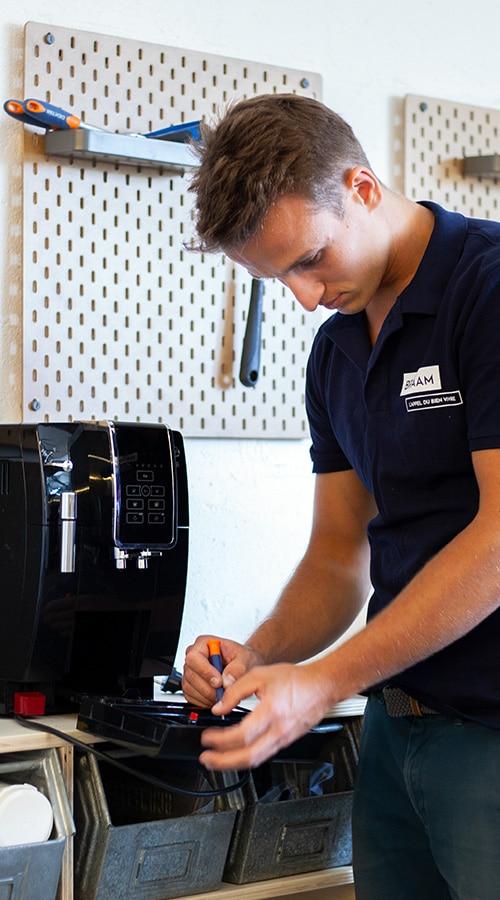 SAV machine à café
